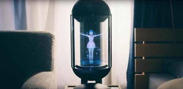 Un japonais a épousé l'hologramme d'une adolescente virtuelle