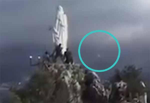 Argentine : Un Ovni a volé près d'une statue de la Vierge Marie