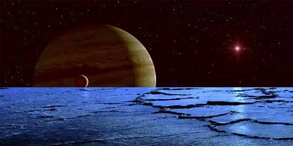Les extraterrestres de la lune Europe peuvent se nourrir de radioactivité