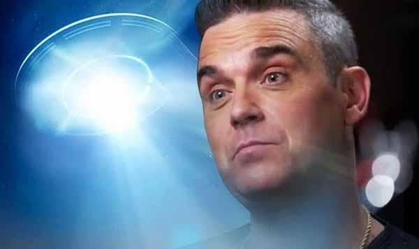 Robbie Williams a apparemment déjà vu une soucoupe volante