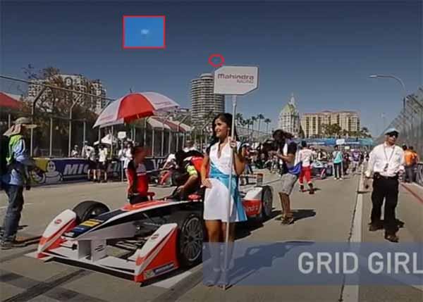 Vidéo: OVNI filmé au-dessus d'une piste de formule 1