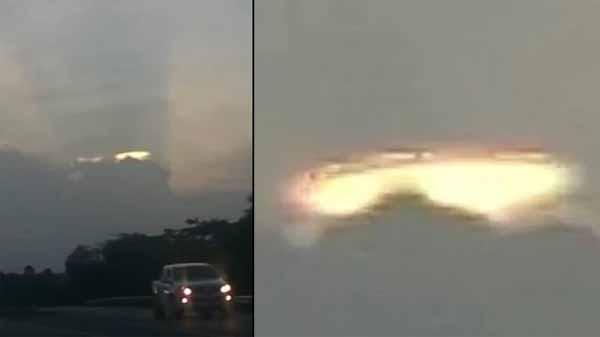 Vidéo: Une Soucoupe Volante devient visible dans le ciel en Jamaïque