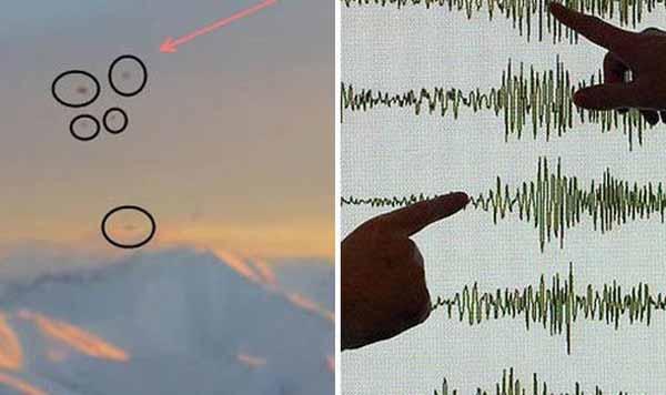 Après un Séisme à 7,9, des OVNI ont été observés en Alaska !