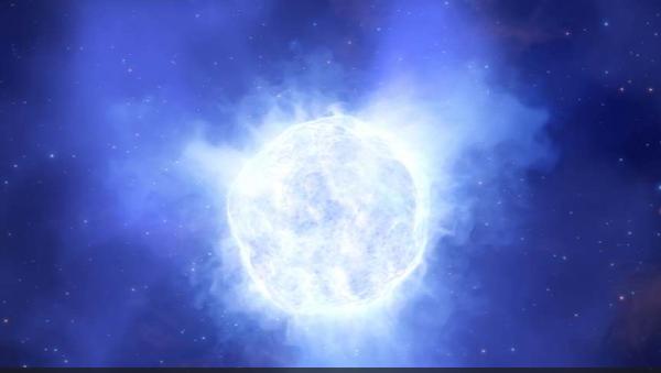 Une étoile hypergéante disparaît mystérieusement