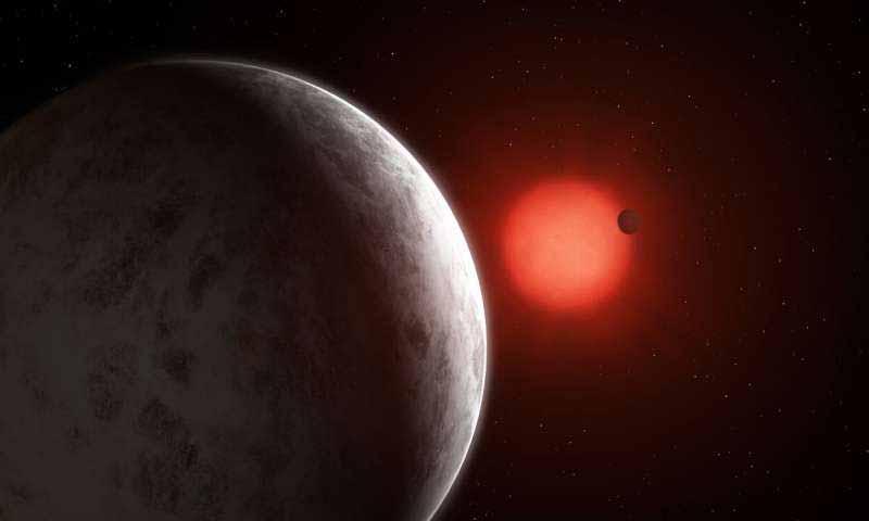 Découverte de super-terres en orbite autour d'une étoile naine rouge