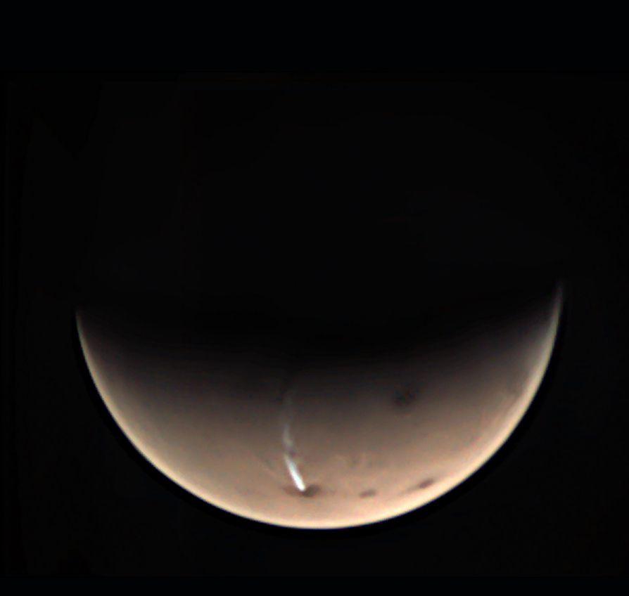 Un étrange nuage sur Mars intrigue les scientifiques