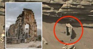 Une arche extraterrestre sur des photos officielles de Mars