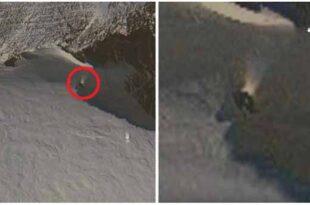 Un étrange objet émettant un faisceau de lumière découvert en Antarctique