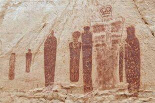 Des extraterrestres sont-ils représentés sur des peintures murales très anciennes dans l'Utah ?