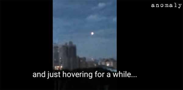 Une orbe est apparue juste avant un orage en Russie