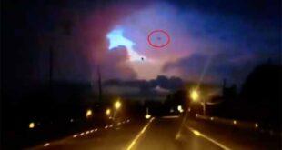 Vidéo: Un OVNI sort d'un portail aux États-Unis
